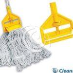 CleanPRO Zestaw KENTUCKY mop sznurkowy, spinka do mopa, kij