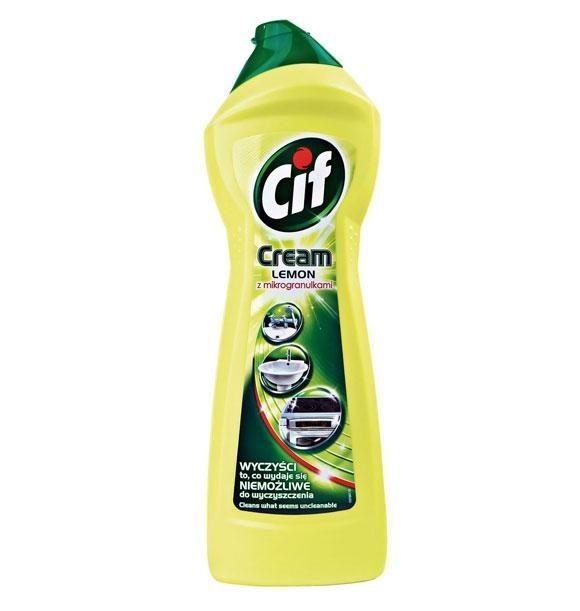 CIF 750ml mleczko żółte
