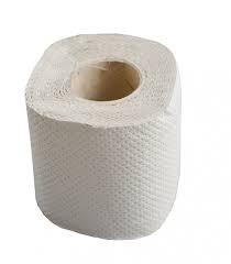 Papier toaletowy szary mała rolka A'64