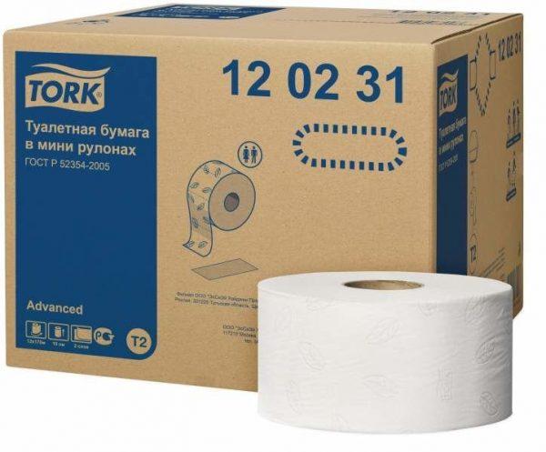 Papier toaletowy Mini jumbo TORK 120 231