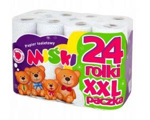 Miśki Papier toaletowy 24 rolki