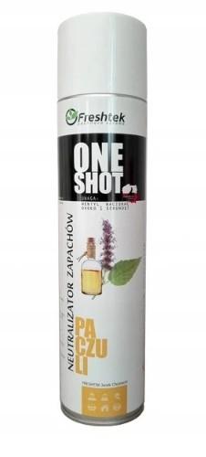 Neutralizator zapachów ONE SHOT PACZULI 600 ml