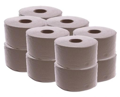 Papier toaletowy JUMBO szary zgrzewka 12rolek
