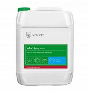 Velox Spray 5L szybka dezynfekcja powierzchni