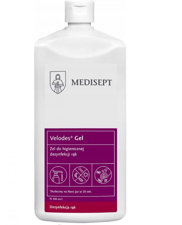 Żel do mycia rąk Medisept Velodes 500 ml