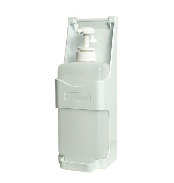 Dozownik pojemnik łokciowy do płynów dezynfekcyjnych 1000 ml